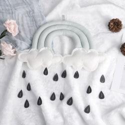 Tält baby spjälsäng hängande leksak moln regndroppe tillbehör för Decora