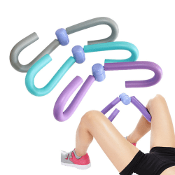 Thigh Master Leg AB Arm Muscle Toner Exercise Machine Home Gym P Purple one size