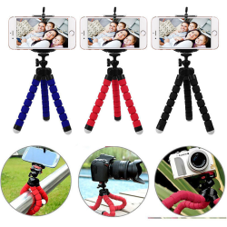 Tripod Flexible Octopus Bracket Holder Stand Mount for Cell Phon