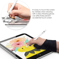 Two-fingers Artist Anti-touch Glove for Drawing Tablet Right an S