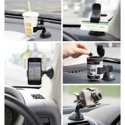 Universal 360° Rotating Car Windshield Mount Holder Stand For Mo
