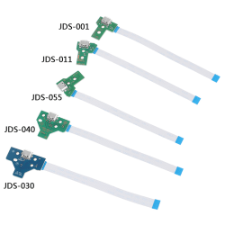 USB Charging Port Socket Circuit Board 12Pin JDS 011 030 040 For JDS-055