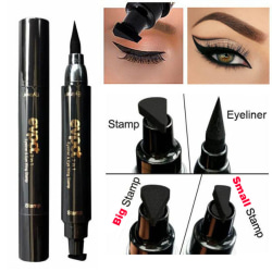Waterproof Winged Eyeliner Stamp Makeup Cosmetic Eye Liner Penci black  Small