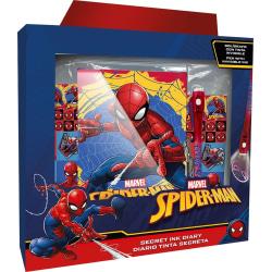 Dagbok med hänglås - Spiderman