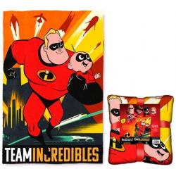 Fleecefilt Superhjältarna