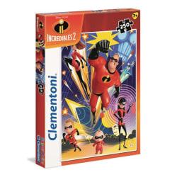 Kids SuperColors Pussel - Superhjältarna - 250 Bitar