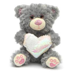 Nallebjörn med hjärta - 28 cm