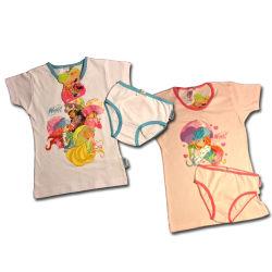 Winx set med T-shirt och trosa Rosa 8-10år