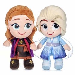 2-Pack Disney Frozen 2 Frost Elsa & Anna Plush Gosedjur Mjukisdj multifärg