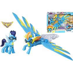 2-Pack My Little Pony Spitfire and Soarin Figure Doll Docka multifärg
