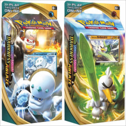 2-Pack Pokémon TCG: Sword & Shield - Darkness Ablaze Theme Deck  multifärg