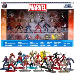 20st Marvel Avengers Nano Metalfigs Samlarfigurer 100% Die-Cast  multifärg