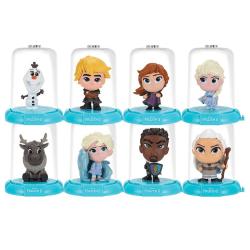 3-Pack Disney Frozen Frost 3 Domez Collectible Minis Figurer 7cm multifärg