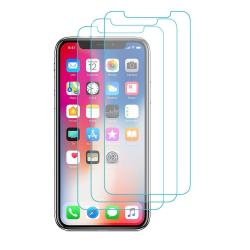 3-Pack Härdat Glas Alla iPhone: 12/11/Pro/Max/Xs Max/XR/XS/8/Plu 3st iPhone 12/12 Pro