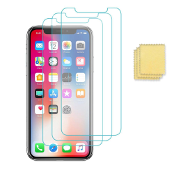 3-Pack iPhone 12 Mini  Skärmskydd Folie Transparent  Transparent