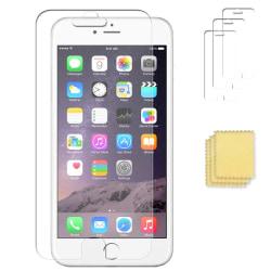 3-PACK iPhone 6 PLUS/6S PLUS Skärmskydd Transparent + Putsduk Transparent