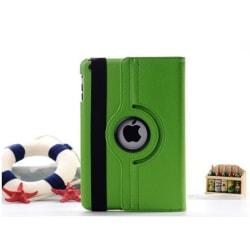 360° Flexibel Rotation Fodral iPad Mini 4 Med Sleep/Wake Up Mörkrosa