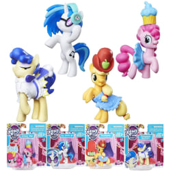 4-Pack My Little Pony Friendship Is Magic Samlar/Spel Figurer 7c multifärg