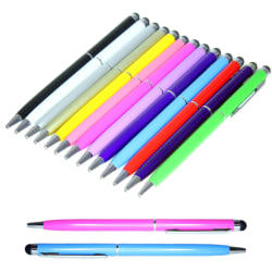 5-Pack 2i1 Universal Touchpenna/Bläckpenna iPad/iPhone/Android m multifärg