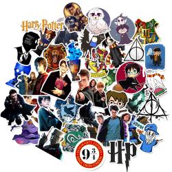 50st Harry Potter Gadget Stickers Klistermärken Återanvändbara V MultiColor