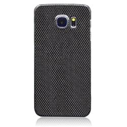 Äkta Carbon Fiber kolfiber skal ultralätt Samsung Galaxy S6 TitaniumGrey