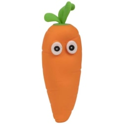 Antistress Crazy Carrot! Morot Kläm Och Formbar Stressboll Skämt Brun