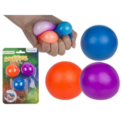 Anti-stress Squeeze Boll 3-pack  multifärg