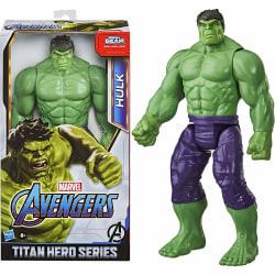 Avengers Deluxe Titan Hero Series Hulk Figure With Blast Gear Po multifärg