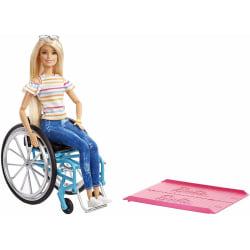 Barbie Fashionistas Doll #132 Docka Med Rullstol multifärg