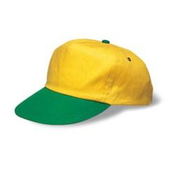 Barn Keps Brazil One Size 7-12År Gul/Grön multifärg