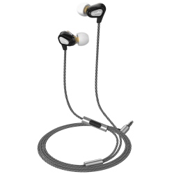 Celly Headset Dual Driver In-ear Hörlurar Svart Svart