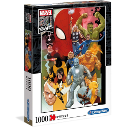 Clementoni Marvel 80 Years-1000pc Puzzle Pussel  multifärg