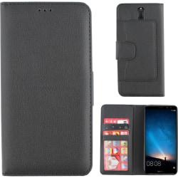 Colorfone Wallet Huawei Mate 10 Lite Plånboksfodral BLACK Svart