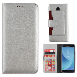 Colorfone Wallet Samsung Galaxy J5 2017 Plånboksfodral SILVER Silver