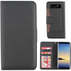 Colorfone Wallet Samsung Galaxy Note 8 Plånboksfodral BLACK Svart
