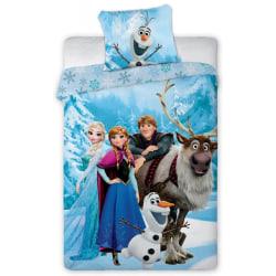 Disney Frost Frozen 117 Elsa Anna Olof Sven Kristoffer Påslakans multifärg