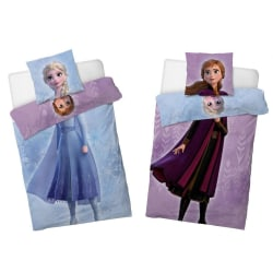 Disney Frost Frozen 2 Elsa & Anna Påslakanset Bäddset 140x200+70 multifärg