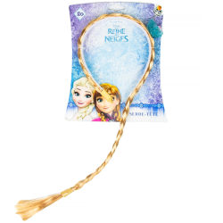 Disney Frozen Frost Elsa Diadem Med Fläta Gul one size