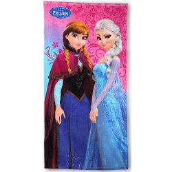 Disney Frozen Frost Handduk Badlakan Anna Elsa multifärg