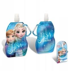 Disney Frozen Vikbar Vattenflaska Med Karbinhake 500ml BLÅ Blå