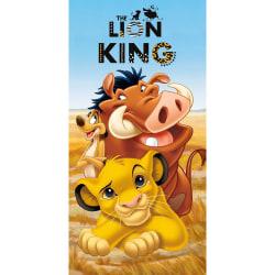 Disney The Lion King Lejonkungen Handduk Badlakan 140*70cm MultiColor
