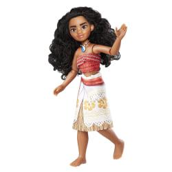 Disney Vaiana/Moana Adventure Doll Docka Med Böjbara Leder MultiColor