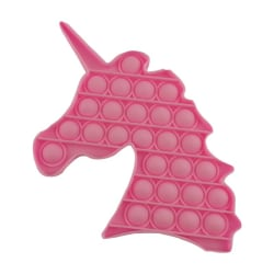 Fidget Toy Pop It Leksak Stress Relax Rosa Unicorn Enhörning Rosa