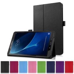 Flip & Stand Smart Cover Fodral Samsung Galaxy Tab A 10.1 (2016- Svart