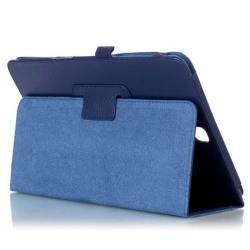 Flip & Stand Smart Cover Fodral Samsung Galaxy Tab A 9.7 Blå Mörkblå