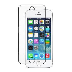 Härdat glas skärmskydd iPhone 5C transparent Transparent
