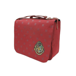 Harry Potter Crest Messenger Bag Axelväska Skolväska 35x30x10cm Vin, röd one size