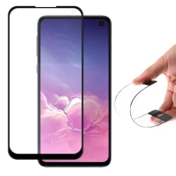 Heltäckande S10 Lite/Note 10 Lite/A71 Flex Nano Härdat Glas Hybr Transparent