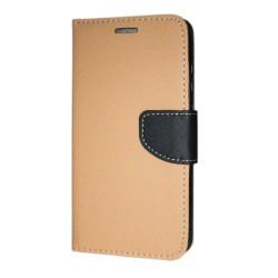 Huawei Mate 20 Lite Plånboksfodral Fancy Case + Handlovsrem Guld Guld