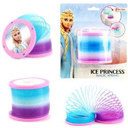 ICE PRINCESS Magic Spring With Glitter 7,5cm Trappfjäder MultiColor